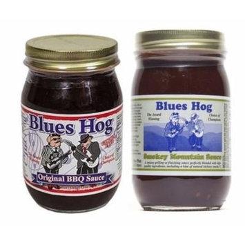 Blues Hog Original BBQ Sauce 16 oz Blues Hog Smokey Mountain Sauce - 16 oz (Combo Pack)