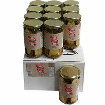 Brooklyn Brine Pickles- Damn Spicy- Case Packed 24 Oz Jars