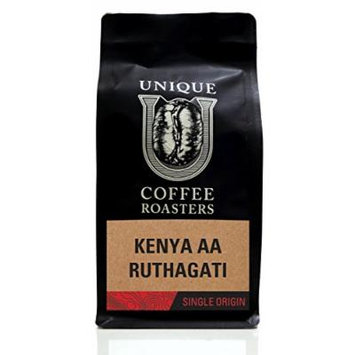 Kenya AA - Whole Bean - Unique Coffee Roasters - (2) 12oz. Bags - 24oz. Pack …