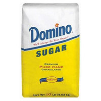 Domino Sugar, Pure Cane, Granulated (10 lb.) (pack of 6)