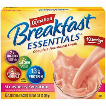 Carnation Breakfast Essentials Strawberry Sensation
