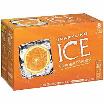 Sparkling Ice Orange Mango, 8 Ounce Bottles, 8 Count (Pack of 2)