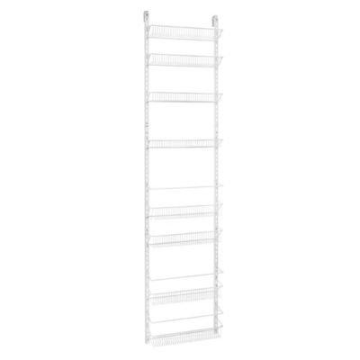 ClosetMaid 8-Tier Adjustable Door Rack