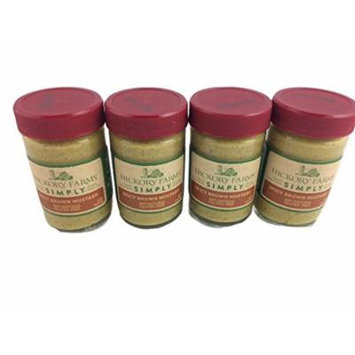 Hickory Farms Simply Spicy Mustard 100% Natural Gluten Free Holiday Spread Appetizers