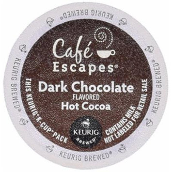 Café Escapes Hot Cocoa, Dark Chocolate 96 Count