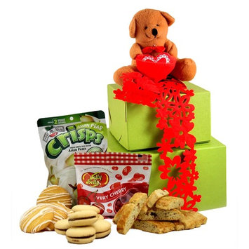 Gluten Free Palace Beary Sweet Valentine's Day Gluten Free Gift Tower, Small