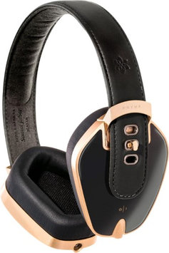 Pryma Headphones Leather & Aluminum Headphones Heavy Gold