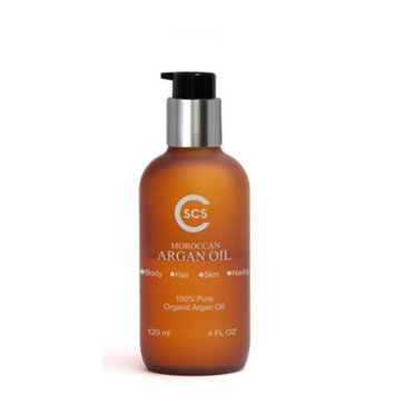 CSCS Pure Organic Moroccan Argan Oil for Hair, Skin and Nails - Imported from Morocco