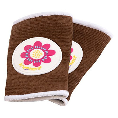 Ah Goo Baby Kneekers Baby Knee Pads for Crawling, Unisex, Power Pedal Toffee Pattern, For Chunky Le
