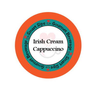 Smart Sips Coffee Irish Cream Cappuccino, for Keurig K-cup Brewers, 72 Count