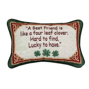 Friends Are Hard to Find Rectangular Throw Pillow 8.5