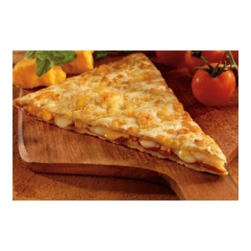 Conagra The Max Cheese Slice Quesadilla Pizza, 5 Ounce - 48 per case.