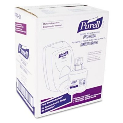 purell hand sanitizer dispenser instructions