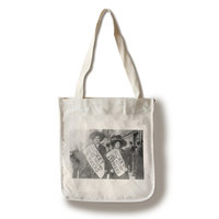 Female Garment Workers on Strike Photograph (100% Cotton Tote Bag - Reusable)