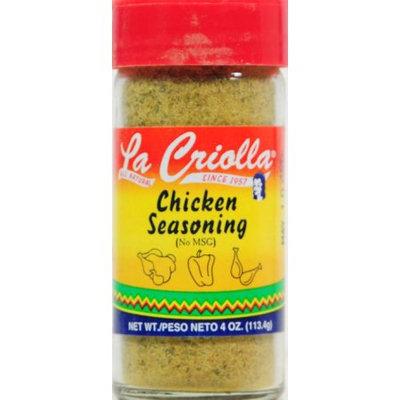 La Criolla Inc. La Criolla Chicken Seasoning No Msg