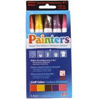 Elmers Painters Craft Colors Paint Markers, 5-Color Set