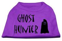 Mirage Pet Products 511303 XXXLPR Ghost Hunter Screen Print Shirt Purple with Black Lettering XXXL 20
