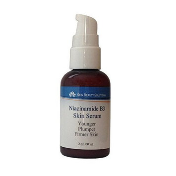 2 oz - NIACINAMIDE 5% B3 Face Serum Advanced Formula with 5% Niacinamide Vitamin B3 for Younger, Plumper, Firmer Skin. Organic & Natural Base Serum