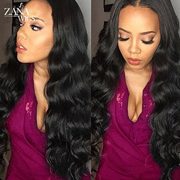 ZANA Soft Loose Curly Human Hair Wigs Brazilian Hair Lace Front Wigs For Black Women