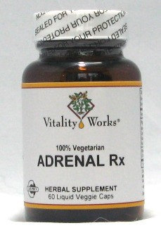 Adrenal RX Vitality Works 60 VCaps