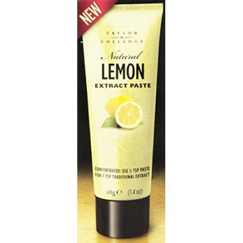 Taylor & Colledge 266818 1.4 oz. Extract Paste Lemon
