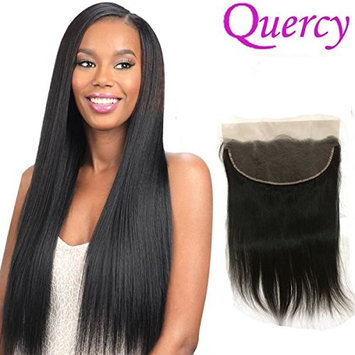 Quercy Hair Ear to Ear Full Lace Frontal Closure Silky Straight 13x4