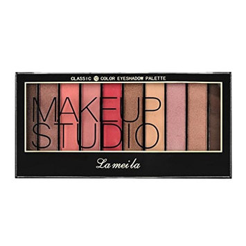 Tuu 10 Colors Shimmer Eye Shadow Makeup Set Eyeshadow Palette for Professional Makeup or Daily Use