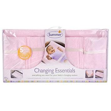 Summer Infant Change Pad + Gray Chevron Cover