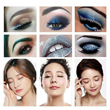 Hatop Eyeshadow Palette 10 Colors Shimmer Glitter Eye Shadow Powder Palette Matte Eyeshadow Cosmetic Makeup