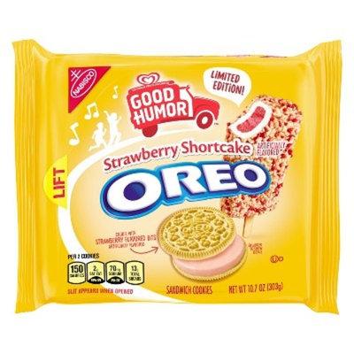 Oreo Good Humor Strawberry Shortcake Sandwich Cookies - 10.7oz