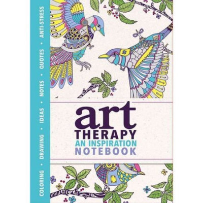 Art Therapy: An Inspiration Notebook, Drawing, Ideas, Notes, Quotes, Anti-Stress