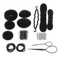 Women Girls DIY Hair Styling Accessories Kit Set
