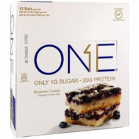 Oh Yeah!, One Bar, Blueberry Cobbler, 12 Bars, 2.12 oz (60 g) Each(pack of 4)
