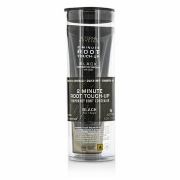 Alterna - Stylist 2 Minute Root Touch-Up Temporary Root Concealer - # Black -30ml/1oz