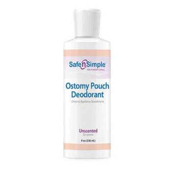 Safe n simple ostomy appliance deodorant 8 oz. bottle part no. sns40208 (1/ea)