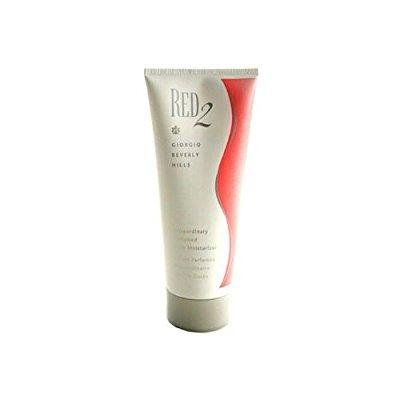 red 2 by giorgio beverly hills for women extraordinary, 6.7 oz perfumed body moisturizer/lotion