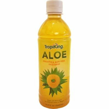 Tropiking Pineapple-Aloe Drink 16.9 oz fl - Bebida Pina y Savila (Pack of 6)
