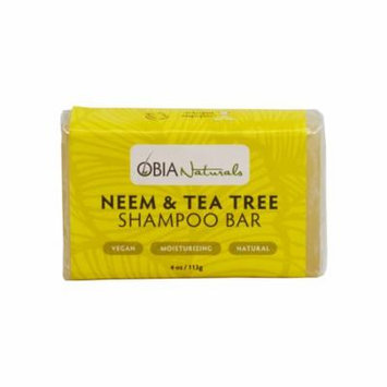 OBIA Naturals Shampoo Bar Neem & Tea Tree Cleansing Wash 4oz.