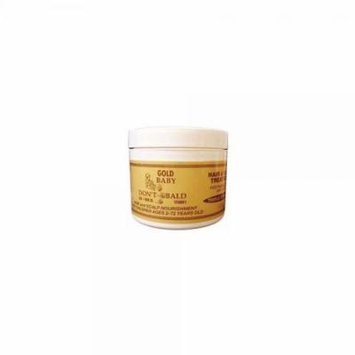 baby dont be bald gold hair and scalp treatment 8 oz