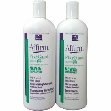 Affirm Fiberguard Normalizing Shampoo + Sustenance Treatment 32oz