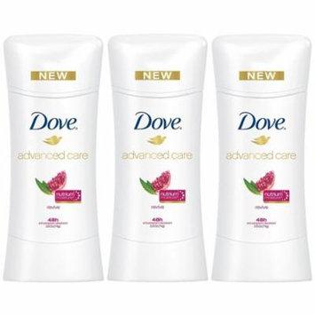 Dove Advanced Care Anti Perspirant Deodorant Revive 2.6 Ounces (Pack Of 3)