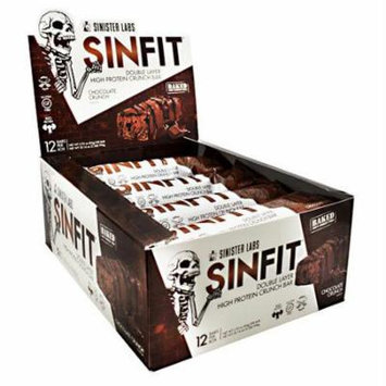 Sinister Labs, Sinfit Bar Chocolate Crunch 12 - 2.93 oz (83g) per bar