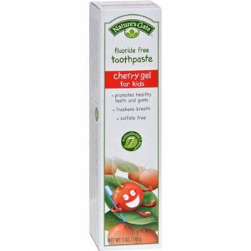 Nature's Gate Natural Toothpaste Gel For Kids Cherry - 5 Oz - Pack of 6