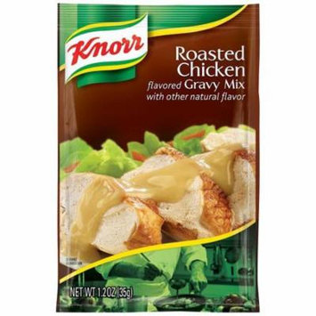 Knorr Roasted Chicken Gravy Mix 1.2 Oz Packet (Pack of 12)