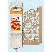 Spellbinders Card Creator Die Poppies Pocket Card (A2)