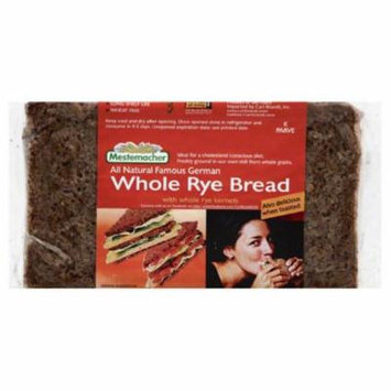 Mestemacher Bread Whole Rye, 17.6 Oz (Pack of 12)