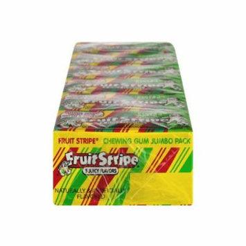 Fruit Stripe Chewing Gum 5 Juicy Flavors, 204.0 CT