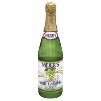 Meiers White Catawba Sparkling Grape 100% Juice, 25.4 Fo (Pack of 12)