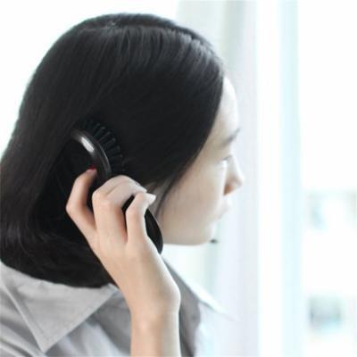 Mini Portable Folding Health Massage Brush Hairbrush Comb with Mirror