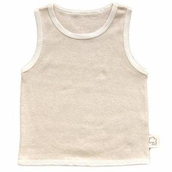 Lian Style Infant Baby's 1 PK Organic Cotton Undershirt Tank Beige Size(3Y-4Y)